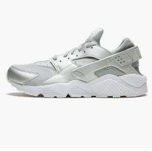 Nike Huarache Run (GS) Silver